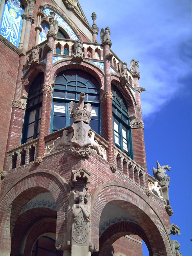 Hospital de Sant Pau: Gargoyles