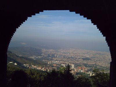 Barcelona: As Seen From Tibidabo Park