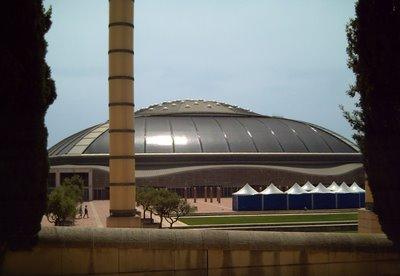 Palau Sant Jordi at Barcelona Olympic Ring