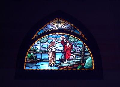Stained Glass: Mare de Déu de Montserrat Church