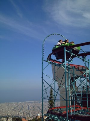 Tibidabo Amusement Park: Roller Coaster