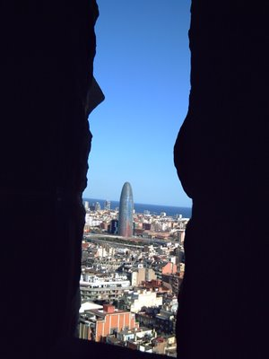 Barcelona Architecture: Torre Agbar