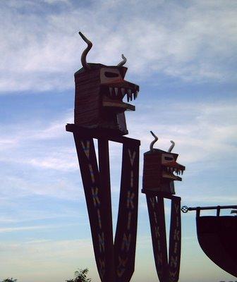 Vikings at Tibidabo