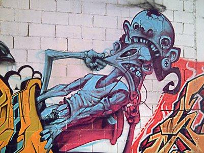 Street Artist X: Barcelona Graffiti - Click to resize