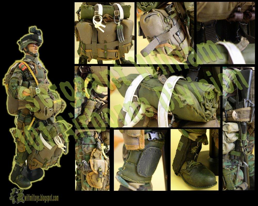 Sergeant William, 101 Airborne Division (Customized) | Wilfred's Art