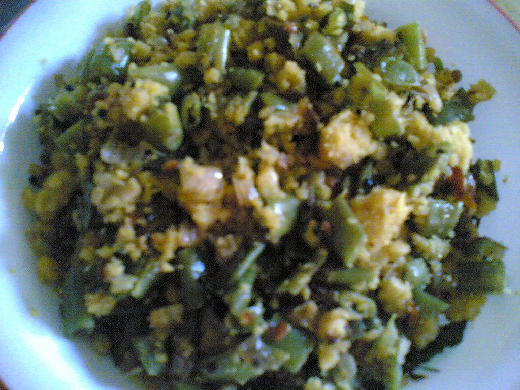 French Beans Patoli – Traditional Andhra Recipe