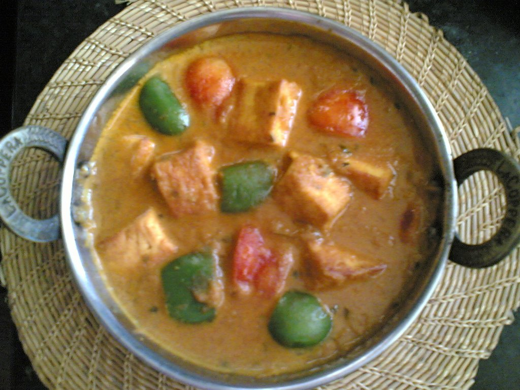 Sailus food indian food andhra recipes herbs spices kadai paneer cottage cheese creamy curry forumfinder Image collections