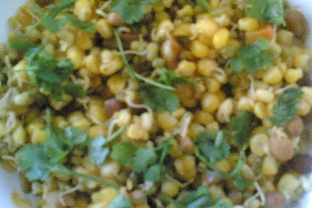 Sailus food indian food andhra recipes herbs spices mixed sprouts corn salad ayurvedic recipe forumfinder Image collections