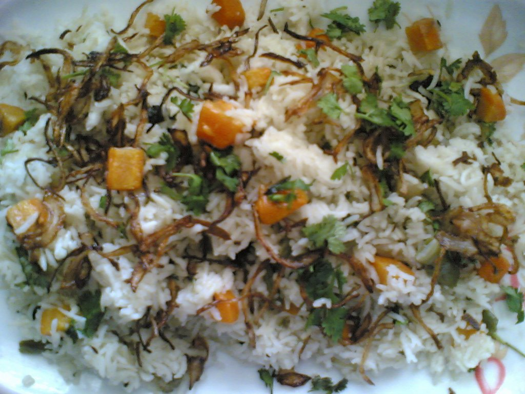 Recipe for veg pulao andhra pulao pulao recipe andhra vegetable pulao veg pulao recipe forumfinder Choice Image