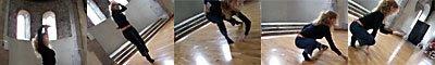 Susannah dances