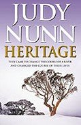 Book cover: Heritage by Judy Nunn.