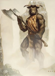 """Citation: The Minotaur in """"The Chronicles of Narnia - The Lion ..."""