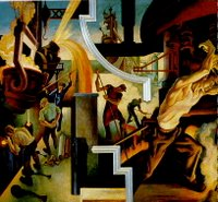 Detail from Thomas Hart Benton's America Today, 1930-31