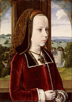 Jean Hey, Margaret of Austria, ca. 1490