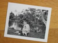 Rineke Dijkstra working Polaroid