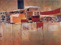 Robert Rauschenberg, Rebus (but $30M and no stuffed animal?)