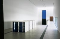 Donald Judd and Ellsworth Kelly, installation view