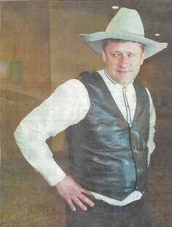 Hi. I'm Stephen Harper. There's a new Sheriff in town