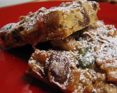 my little kitchen: Mondays with Maida - Christmas Fruitcake Bars