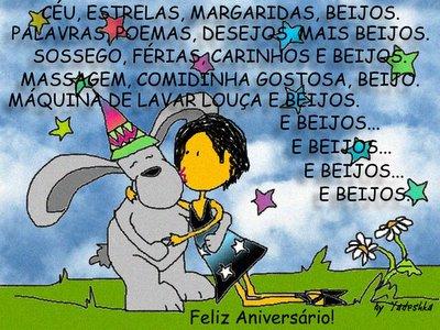 Beijos, Coelho!