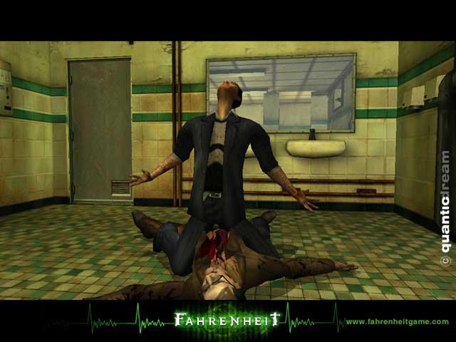 Omikron Game: Fahrenheit (Indigo Prophecy) Old Screens