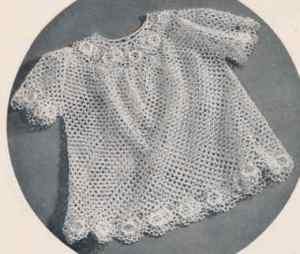 Irish Crochet Dress Free Patterns : Free Vintage Crochet Patterns: Irish Crochet Baby Dress