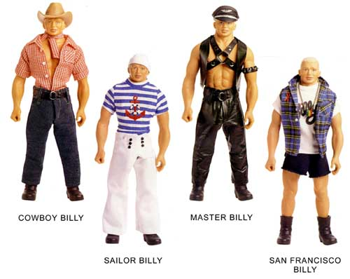 Tom of finland action figure dolls penis