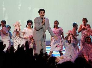 Borat at the MTV Europe Awards 2005