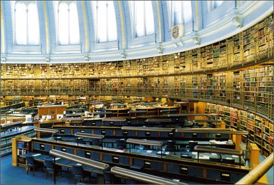 The Reading Room, now turned into an inert monument