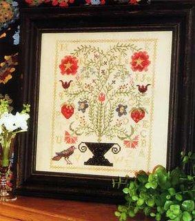 The queen 39 s stash for Blackbird designs strawberry garden