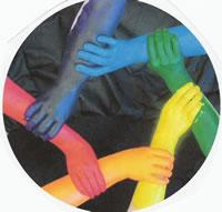 Equipo de lesbianas y transexuales gay