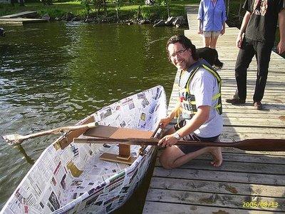 paper boat 4 Kapal Terbuat Dari Kertas Bisa Ditumpangi & Mengambang