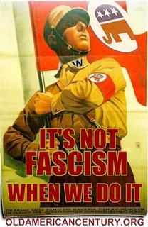 Fascism? Not us!