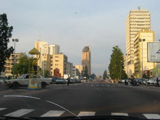 Downtown Kinshasa, courtesy of Kim Gjerstad