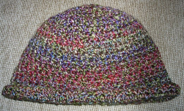Homespun Yarn Crochet Patterns : ... hat is crocheted in Lions Brand Homespun yarn and is cute and warm