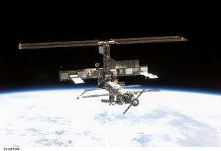 The International Space Station from Orbit