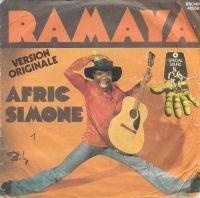 """Afric Simone - Ramaya (1975 - 7"""")"""