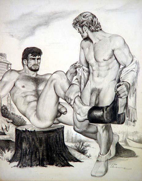 hombres famosos teniendo sexo: