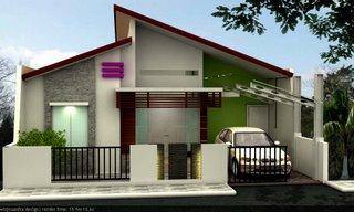 Design Rumah Mengarah Pada Yang Simple Murahmenarik Dan Dapat Di Upgrade Menjadi 2 Lantai