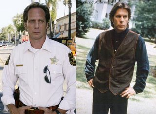 William Fichtner as Sheriff Tom Underlay on INVASION and Gary Cole as Sheriff Lucas Buck on AMERICAN GOTHIC. (Sorry, I couldn't find a good image of Lucas Buck in his sheriff's uniform, but you get the idea.)