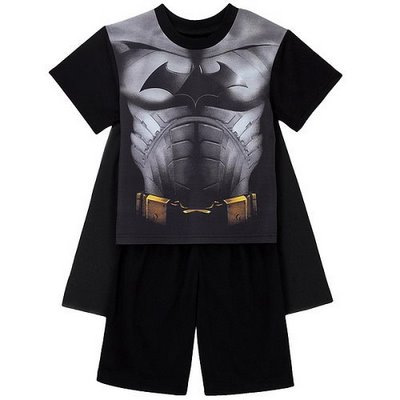 Batman Begins pajamas with cape: start your son on the path to a lifetime of nerdom while he's still young.