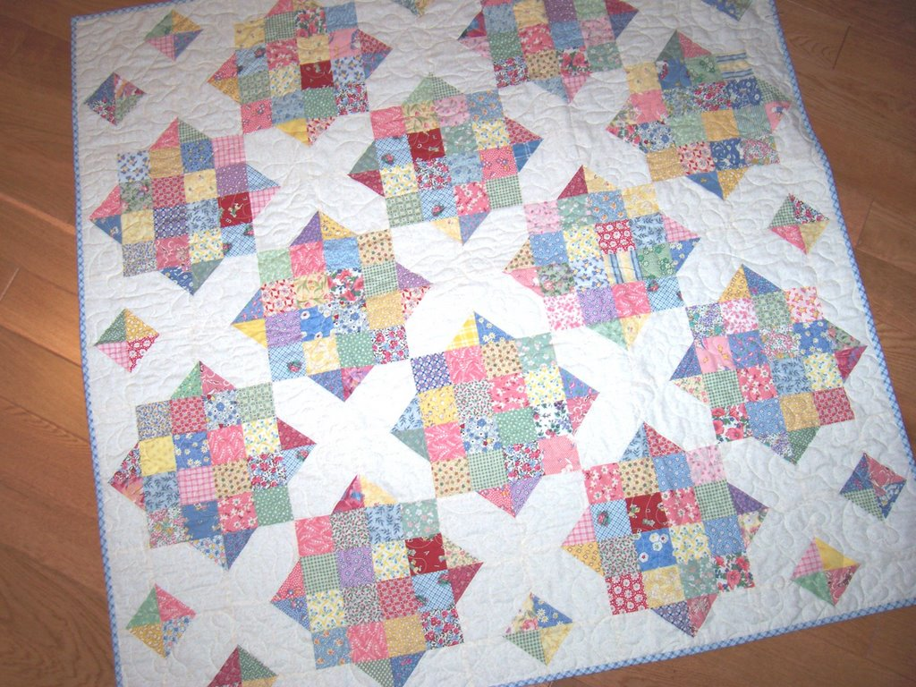 Patchalot More 1930s BABY QUILT