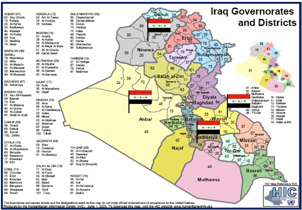Security For Huge Chunks Of Iraq Soon Under Iraqi Control
