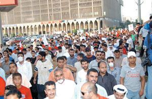 Una scena della manifestazione