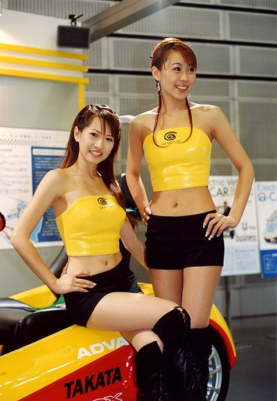 sexy motor show girls