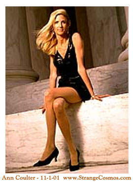 Girls ann coulter sex aggressive pantyhose