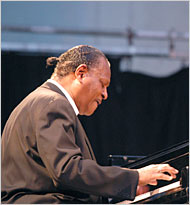 McCoy Tyner will be playing at the Caramoor Jazz Festival.