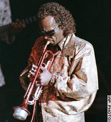 Miles Davis in 1987. The trumpeter, who died in 1991, still sells tens of thousands of albums a year.