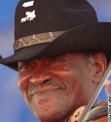 Clarence 'Gatemouth' Brown had more than 30 recordings and won a Grammy award in 1982.