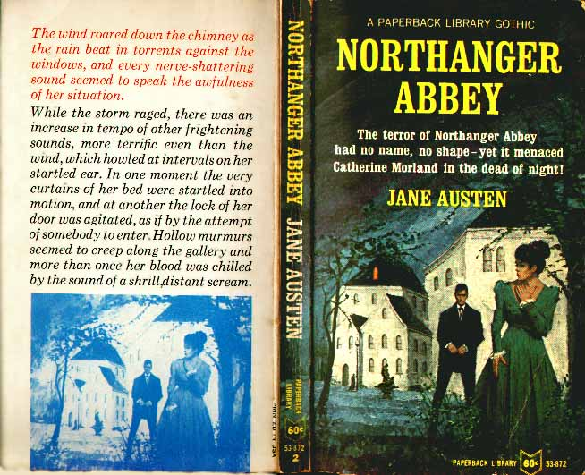 The Terror Of Northanger Abbey Had No Name
